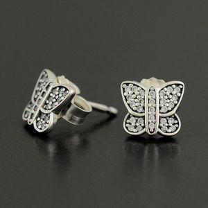 Pandora Butterfly Studs